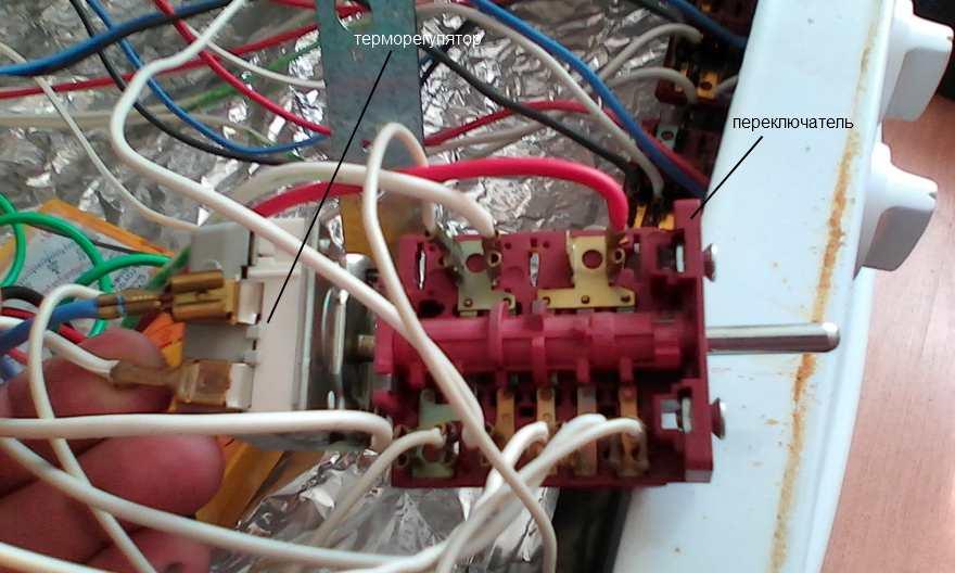 Ремонт термостата духовки своими руками 64