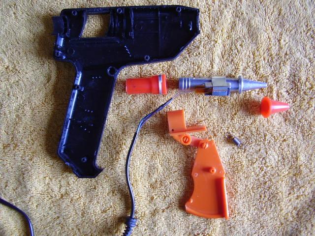 Электрический пистолет своими руками