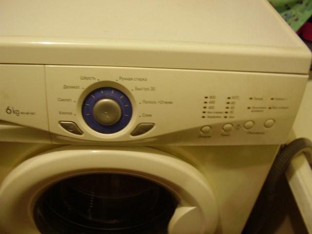 Стиральная машина lg wd 80130t не работает