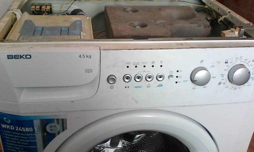 Ремонт стиральной беко своими руками