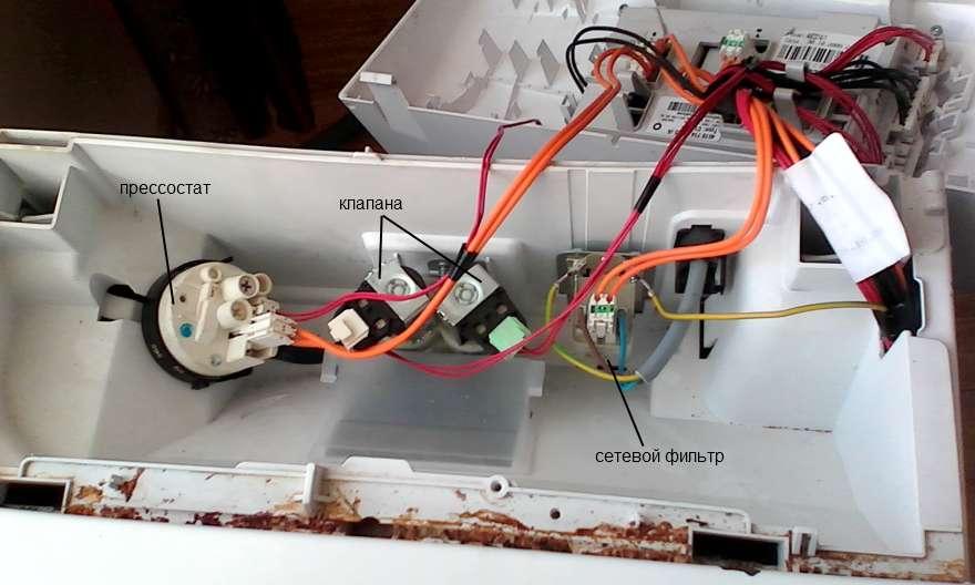 Подключение стиральной машинки вирпул