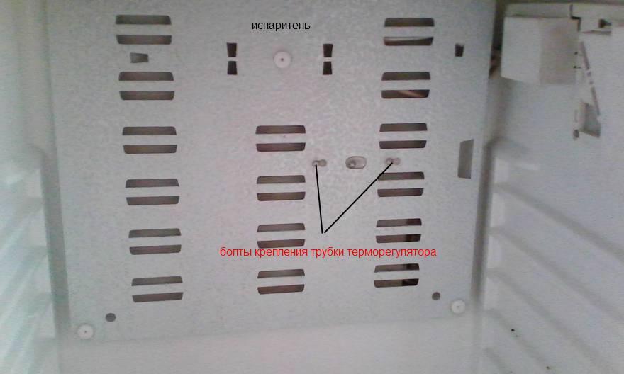 Замена термореле в холодильнике бирюса своими руками